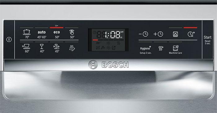 Máy rửa bát bosch serie 6 loại nào tốt? | bosch serie6 SMS68MI04E cao cấp
